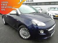 2013 Vauxhall ADAM 1.4 - Blue - 12 MONTHS PLATINUM WARRANTY!