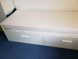 IKEA Brimnes Day Bed with two mattresses
