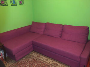 Pull-out bed/sofa