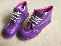 Ladies purple Kickers size 3 (36)