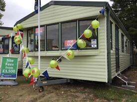Static Caravan Nr Clacton-on-Sea Essex 3 Bedrooms 6 Berth Willerby Westmorland