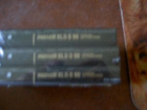 Audio Cassettes New Factory Sealed MAXELL / BASF / TDK / 90/100m West Island Greater Montréal image 5