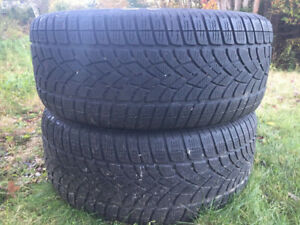 Two 265/50R19 Winter Tires