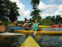 Kayaking Summer Splash Camp
