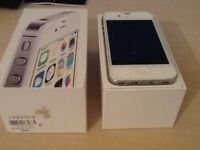 iPhone 4s with box - just like new - EE