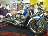 INDIAN SCOUT 1133 2-TONE 2017 MODEL IN STOCK for 2018 REG