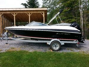2014 Larson Boat, Outboard Motor and Trailer
