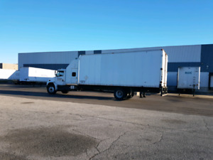 Truck for sale with job