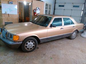 1985 Mercedes 300SD Diesel, Solid body, runs well
