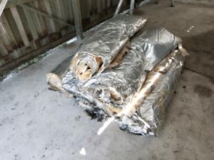 6 rolls of Insulation