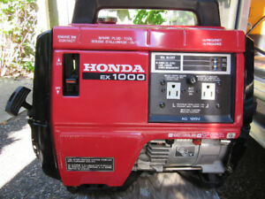 HONDA EX1000 x like new  x always inside