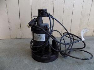 Sump pump pompe submersible