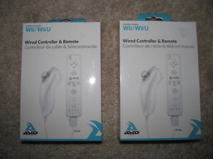 Wii U/ Wii Remotes and Nunchuck