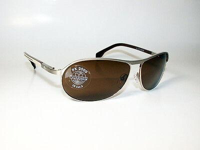 Vuarnet Sunglasses VL/1270 PX2000 CONTRAST LENS GOLD BROWN METAL WRAP *NEW*