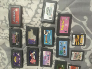 17 Gameboy advance &  4 ds games ,