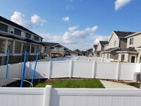 Superior vinyl fence at an Unbeatable price