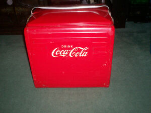 DRINK COCA COLA COOLER (COKE) from 1955 RARE CANADIAN MADE