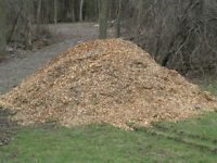 WOOD CHIPS - GARDEN MULCH