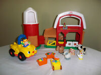 Fisher Price Farm with Sound Effects, Music and Accessories