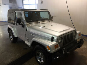2003 Jeep TJ Rocky Mountain Edition - Leather Interior