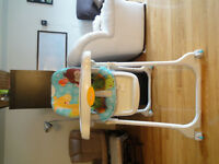 Fisher price High chair - $40 (Montreal)