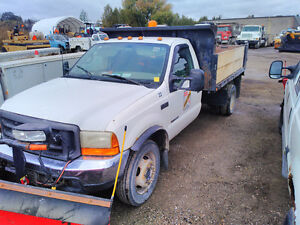 2000 Ford F550 Dump & Plow Truck Stratford Kitchener Area image 1
