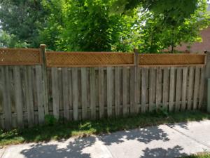 Fences gates and post repair