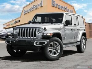 2019 Jeep Wrangler Unlimited Sahara  - Navigation - $328.36 B/W