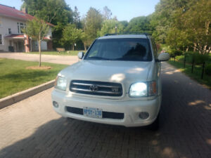 Toyota Sequoia well maintained