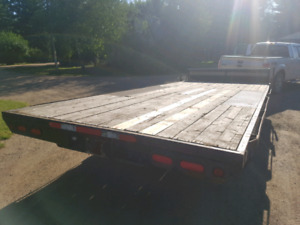 12000 LB rated - 8x20 Flat Deck trailer
