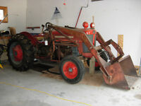 Model 65 Massey Ferguson Tractor with front end loader