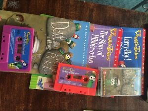 Story books with cassette tapes