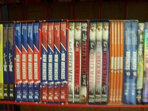 assorted  classic tv series (to many to list)