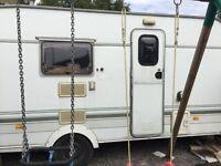 Swift tourer /caravan / trailer 1997, with full awning!