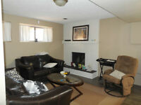 Bright and sunny one bedroom basement suite for rent as of May22