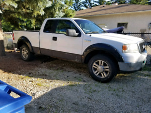 2006 FORD F150 4X4 SUPERCAB