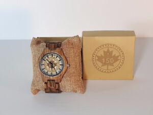 Canada 150th Anniversary Wooden Watches
