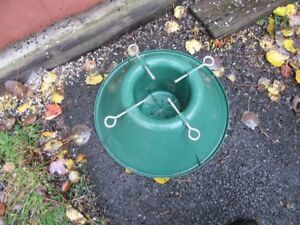 TREE STAND AND FLOOR TRAY - REDUCED!!!!