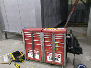 Toolbox with frame