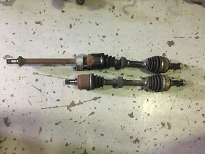 2008 Acura Tsx Axles Drive Shafts Automatic