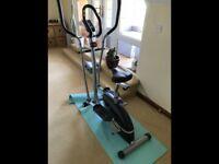 Cross trainer/bike