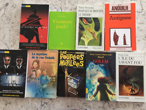 FRENCH NOVELS **NEW