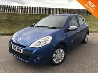 2010 RENAULT CLIO I-MUSIC 1.2 16V 75PS - 25K MILES - F.S.H - 6 MONTHS WARRANTY