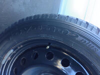4 Pneus Hiver TOYO 235-50-18 + Rims FORD MUSTANG