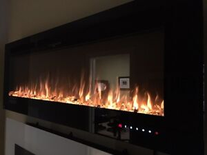"ELECTRIC FIREPLACES ON SALE! 30""40""50""60""70""100"" Napoleon.Amanti"