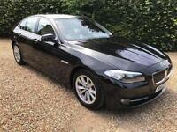 BMW 5 SERIES 520I SE, Black, Auto, Petrol, 2012