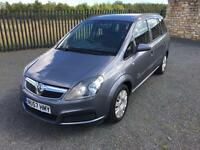 2007 57 VAUXHALL ZAFIRA 1.6 LIFE *7 SEATER* M.P.V - *MAY 2017 M.O.T* - CHEAP!