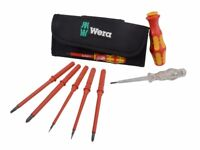 Wera Kraftform VDE Kompakt Interchangeable Screwdriver Set 7 Piece (Brand New)