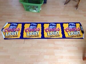 Coors Light Pub Banner, Great for Man Cave or Bar