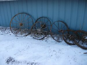 Old Steel Wheels